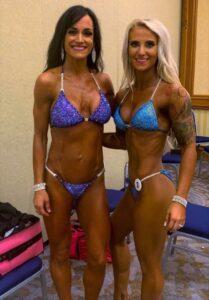 Stephanie Rofkahr and Alysa Stinebaker