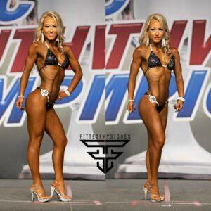 Kelby Haynes Arlington, Texas 2nd Place Open Bikini 2020